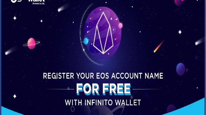 Đăng ký tên tài khoản EOS miễn phí: 3 bước đơn giản trên Infinito Wallet!
