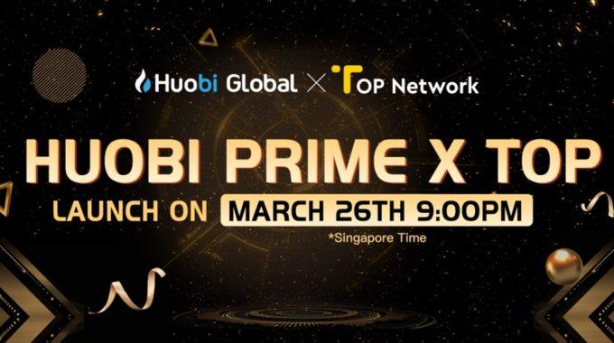 Houbi Prime chính thức ra mắt IEO đầu tiên với dự án Top Network