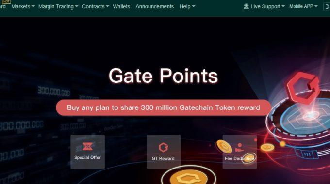 Review sàn giao dịch Gate.io chuẩn bị ieo coin sàn GT vào ngày 8-4.