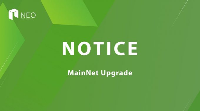 Mainnet NEO sẽ được nâng cấp vào ngày 3/6, giá tăng 14%