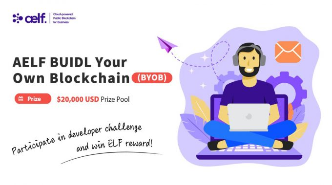 Ra mắt AELF BUIDL Your Own Blockchain (BYOB)