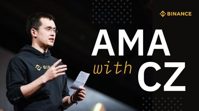 [HOT] AMA Changpeng Zhao: CEO Binance khẳng định sẽ ra mắt lending sau margin và nhiều điều thú vị khác…