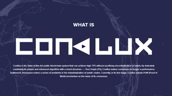 Conflux là gì? Dự án xây dựng nền tảng blockchain thế hệ mới