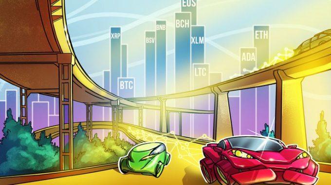 Phân tích giá 08/10: BTC, ETH, XRP, BCH, LTC, EOS, BNB, BSV, XLM, ADA
