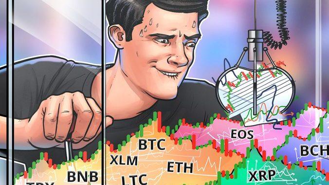 Phân tích giá ngày 17/10: BTC, ETH, XRP, BCH, LTC, EOS, BNB, BSV, XLM, TRX