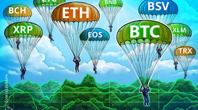 Phân tích giá ngày 28/11: BTC, ETH, XRP, BCH, LTC, EOS, BNB, BSV, XLM, TRX