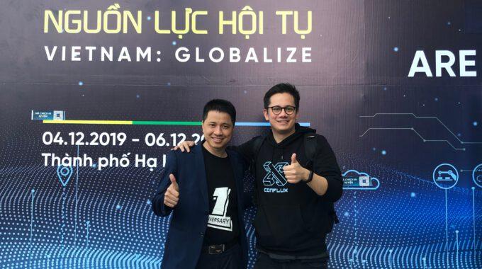 Conflux và những dấu ấn đáng nhớ tại ngày hội khởi nghiệp đổi mới sáng tạo quốc gia 2019 (Techfest 2019) – Hạ Long, Việt Nam