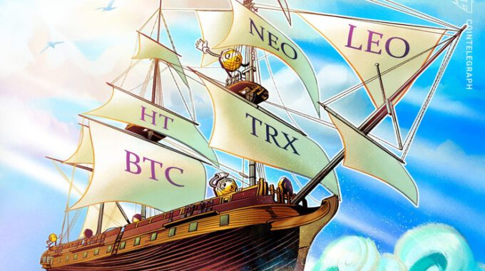 Top 5 đồng coin hoạt động tốt nhất tuần qua: HT, BTC, TRX, NEO, LEO