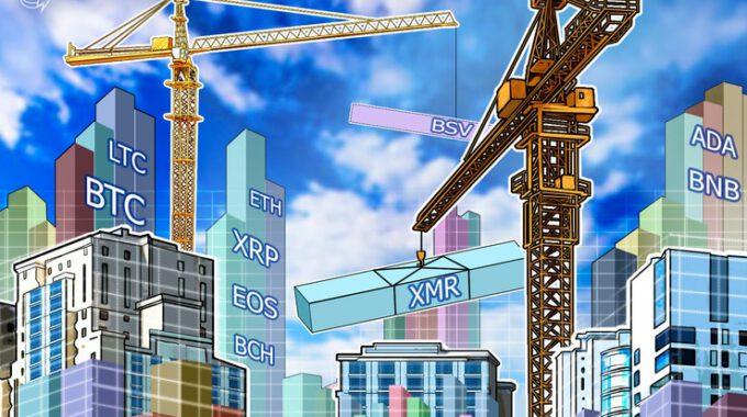 Phân tích giá 09/01: BTC, ETH, XRP, BCH, LTC, EOS, BNB, BSV, XMR, ADA