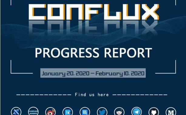 Cập nhật báo cáo hoạt động Conflux tuần (20/1/2020–10/02/2020)
