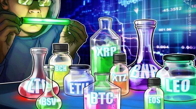 Phân tích giá ngày 31/3: BTC, ETH, XRP, BCH, BSV, LTC, EOS, BNB, XTZ, LEO