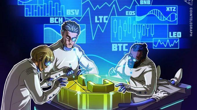 Phân tích giá ngày 21/3: BTC, ETH, XRP, BCH, BSV, LTC, EOS, BNB, XTZ, LEO